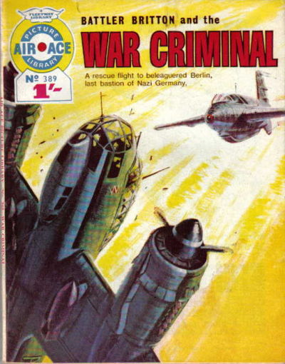 Cover for Air Ace Picture Library (IPC, 1960 series) #389