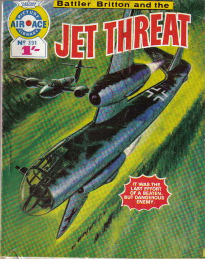 Cover for Air Ace Picture Library (IPC, 1960 series) #391
