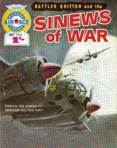 Cover for Air Ace Picture Library (IPC, 1960 series) #393