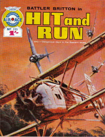 Cover for Air Ace Picture Library (IPC, 1960 series) #395