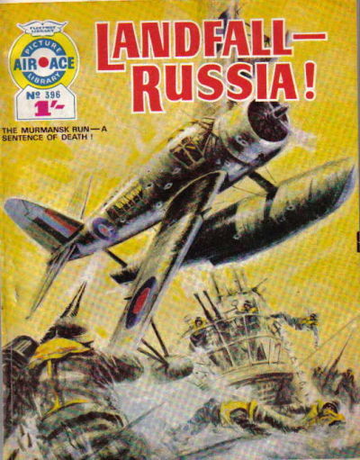Cover for Air Ace Picture Library (IPC, 1960 series) #396