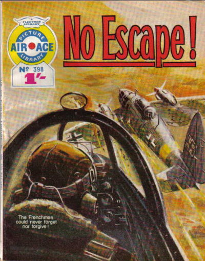 Cover for Air Ace Picture Library (IPC, 1960 series) #398