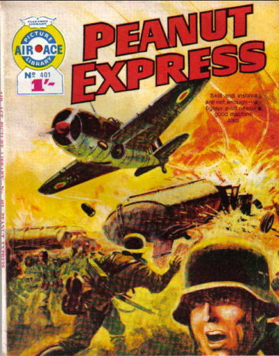 Cover for Air Ace Picture Library (IPC, 1960 series) #401