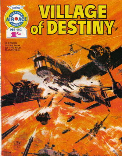 Cover for Air Ace Picture Library (IPC, 1960 series) #402