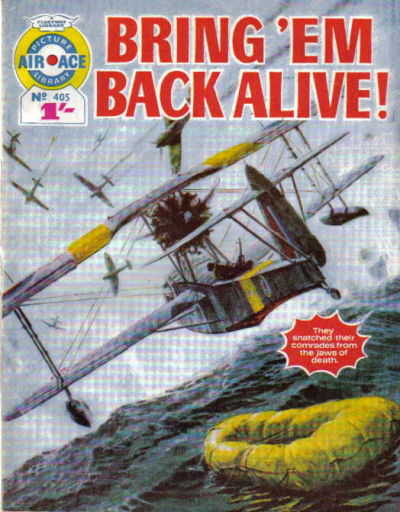 Cover for Air Ace Picture Library (IPC, 1960 series) #405