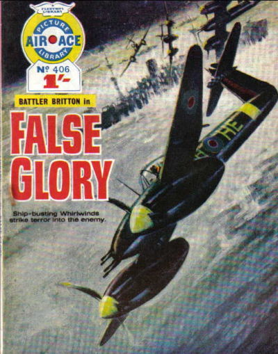 Cover for Air Ace Picture Library (IPC, 1960 series) #406