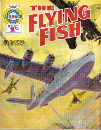 Cover for Air Ace Picture Library (IPC, 1960 series) #409
