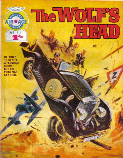Cover for Air Ace Picture Library (IPC, 1960 series) #411