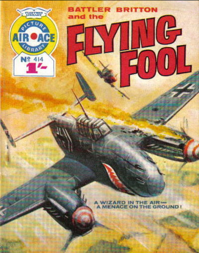 Cover for Air Ace Picture Library (IPC, 1960 series) #414