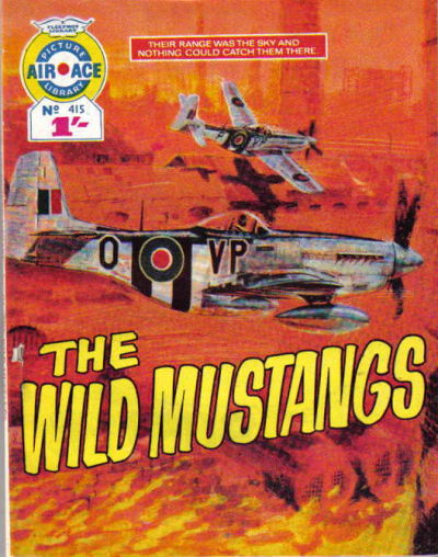 Cover for Air Ace Picture Library (IPC, 1960 series) #415