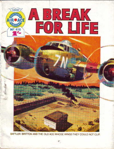 Cover for Air Ace Picture Library (IPC, 1960 series) #418