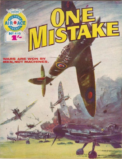 Cover for Air Ace Picture Library (IPC, 1960 series) #419