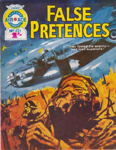Cover for Air Ace Picture Library (IPC, 1960 series) #421