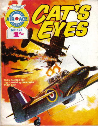 Cover for Air Ace Picture Library (IPC, 1960 series) #428