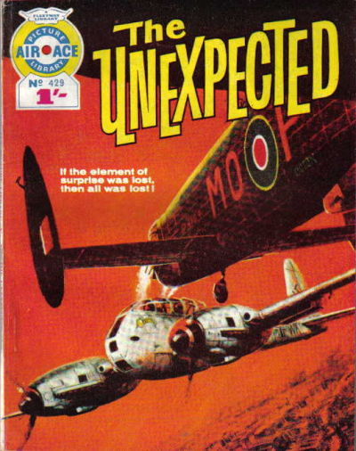 Cover for Air Ace Picture Library (IPC, 1960 series) #429