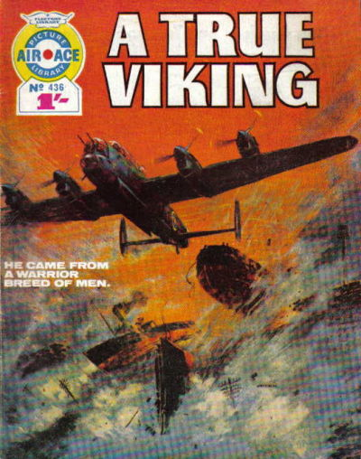 Cover for Air Ace Picture Library (IPC, 1960 series) #436