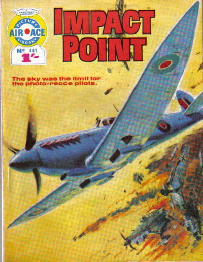 Cover for Air Ace Picture Library (IPC, 1960 series) #441