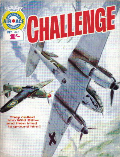 Cover for Air Ace Picture Library (IPC, 1960 series) #443
