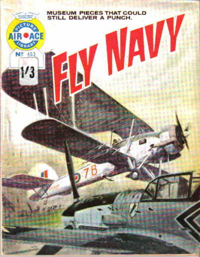 Cover for Air Ace Picture Library (IPC, 1960 series) #453