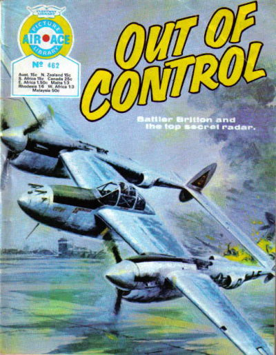 Cover for Air Ace Picture Library (IPC, 1960 series) #462