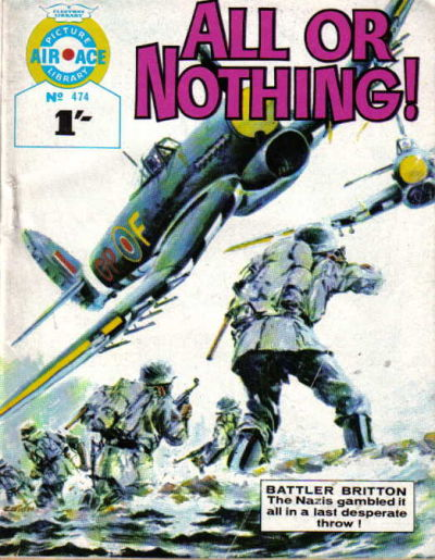 Cover for Air Ace Picture Library (IPC, 1960 series) #474
