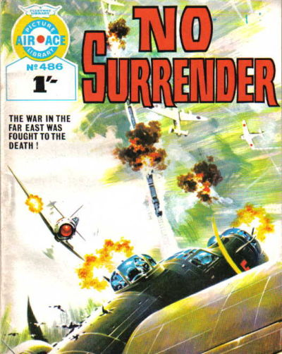 Cover for Air Ace Picture Library (IPC, 1960 series) #486