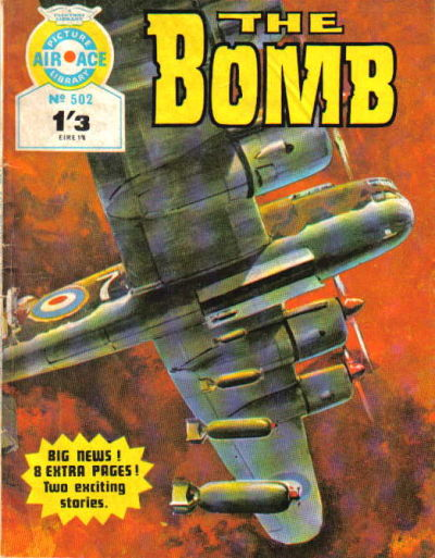 Cover for Air Ace Picture Library (IPC, 1960 series) #502