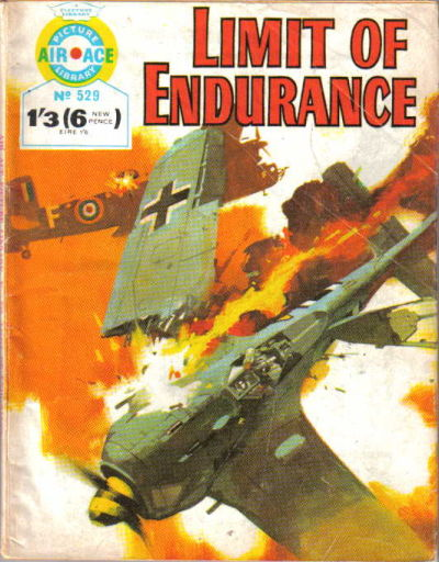 Cover for Air Ace Picture Library (IPC, 1960 series) #529