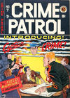 Cover for Crime Patrol (EC, 1948 series) #7