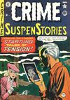 Cover for Crime SuspenStories (EC, 1950 series) #1