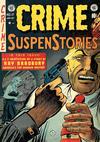 Cover for Crime SuspenStories (EC, 1950 series) #17