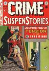 Cover for Crime SuspenStories (EC, 1950 series) #18