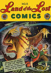 Cover for Land of the Lost Comics (EC, 1946 series) #5
