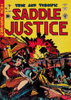 Cover for Saddle Justice (EC, 1948 series) #7