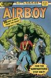 Cover for Airboy (Eclipse, 1986 series) #27