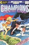 Cover for Champions (Eclipse, 1986 series) #2