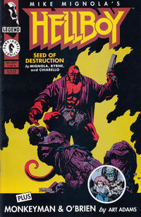 Cover Thumbnail for Hellboy: Seed of Destruction (Dark Horse, 1994 series) #1