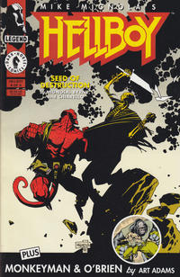 Cover Thumbnail for Hellboy: Seed of Destruction (Dark Horse, 1994 series) #4
