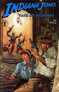 Cover Thumbnail for Indiana Jones and the Fate of Atlantis (Dark Horse, 1991 series) #3
