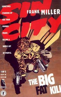 Cover Thumbnail for Sin City: The Big Fat Kill (Dark Horse, 1994 series) #1