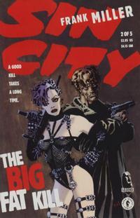 Cover Thumbnail for Sin City: The Big Fat Kill (Dark Horse, 1994 series) #2
