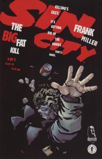 Cover Thumbnail for Sin City: The Big Fat Kill (Dark Horse, 1994 series) #3