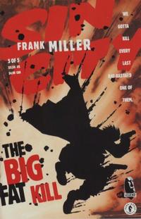 Cover Thumbnail for Sin City: The Big Fat Kill (Dark Horse, 1994 series) #5