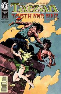 Cover Thumbnail for Tarzan (Dark Horse, 1996 series) #16