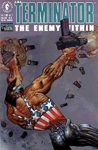 Cover Thumbnail for The Terminator: The Enemy Within (Dark Horse, 1991 series) #4
