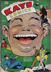 Cover Thumbnail for Kayo Comics (Chesler / Dynamic, 1945 series) #12