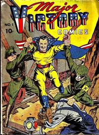 Cover Thumbnail for Major Victory Comics (Chesler / Dynamic, 1944 series) #1