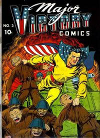 Cover Thumbnail for Major Victory Comics (Chesler / Dynamic, 1944 series) #3