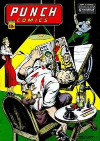 Cover Thumbnail for Punch Comics (Chesler / Dynamic, 1941 series) #9