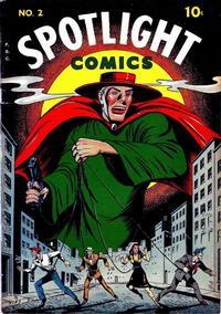 Cover Thumbnail for Spotlight Comics (Chesler / Dynamic, 1944 series) #2